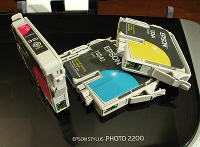 Help with Epson Stylus photo 2200 printer?
