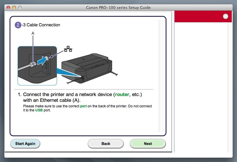 canon pixma pro 100 printer manual