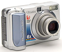 Canon PowerShot A10 Camera WIA Treiber Windows 7