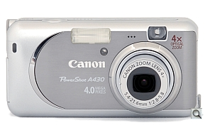 image of Canon PowerShot A430