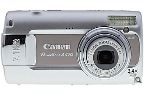image of Canon PowerShot A470