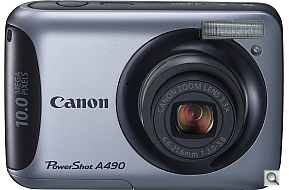 image of Canon PowerShot A490