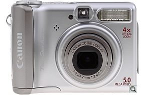 image of Canon PowerShot A530