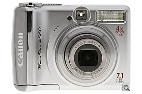 image of Canon PowerShot A560
