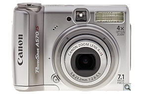 image of Canon PowerShot A570 IS