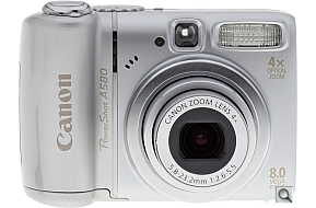 image of Canon PowerShot A580