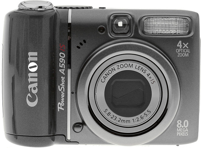 Canon A590 Is Review