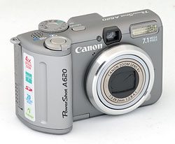 digital cameras canon powershot a620 digital camera review rh imaging resource com Canon A610 Canon PowerShot A620