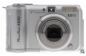 image of Canon PowerShot A630