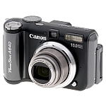 Canon A640 digital camera