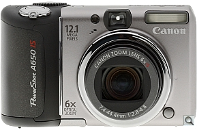 image of Canon PowerShot A650 IS