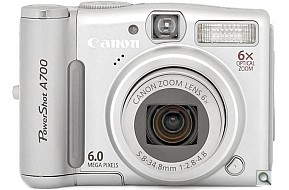 image of Canon PowerShot A700
