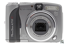image of Canon PowerShot A710 IS