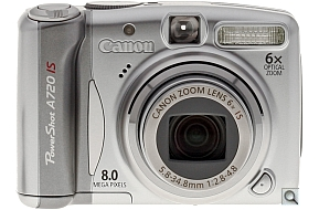 image of Canon PowerShot A720 IS