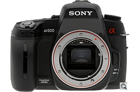 image of Sony Alpha DSLR-A500