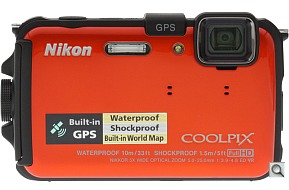 image of Nikon Coolpix AW100