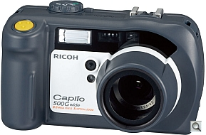 image of Ricoh Caplio 500G Wide