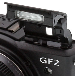 Panasonic DMC-GF2 Pop-up Flash