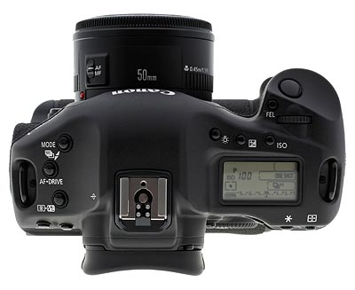 Canon's EOS-1D Mark III digital SLR.