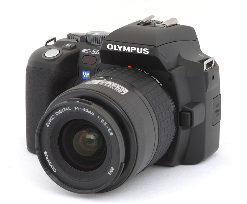 Digital Cameras - Olympus eVolt E-500 Review, Information ...