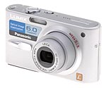 Panasonic's Lumix DMC-FX3 digital camera. Copyright © 2006, The Imaging Resource. All rights reserved.