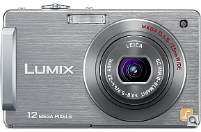 image of Panasonic Lumix DMC-FX580