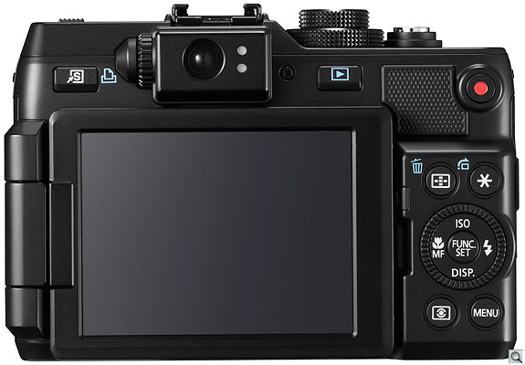 Canon G1 X Back