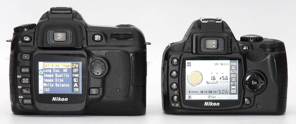 Sd Card Sizes >> Nikon D40 Review - Design