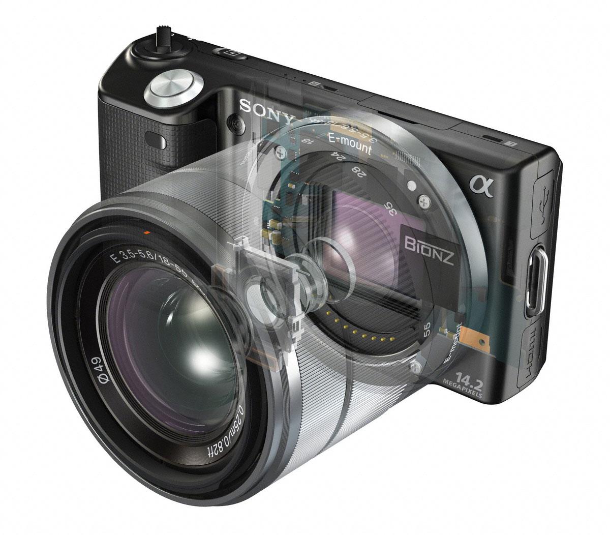 Sony Alpha NEX-5N Mirrorless First Look Review