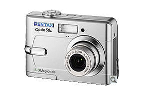 image of Pentax Optio 50L