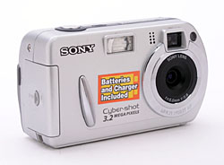 Digital Cameras - Sony Cyber-shot DSC-P32 Digital Camera