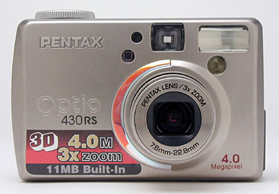 New Drivers: Pentax Optio 430RS Camera USB