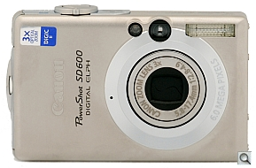 image of Canon PowerShot SD600