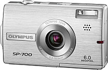 Front side of Olympus SP-700 digital camera