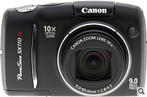 image of Canon PowerShot SX110 IS