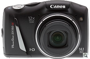 image of Canon PowerShot SX150 IS