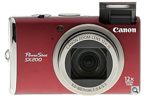 image of Canon PowerShot SX200 IS