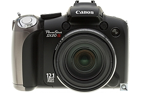 image of Canon PowerShot SX20 IS