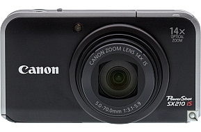 image of Canon PowerShot SX210 IS