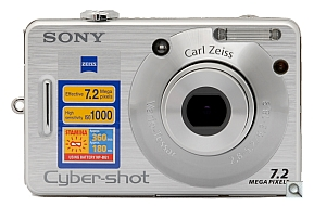 image of Sony Cyber-shot DSC-W70