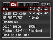 Canon XTi Review - Modes & Menus