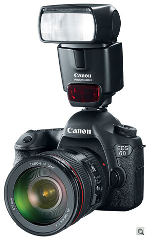 Canon EOS 6D with 430EX II flash