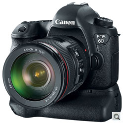 Canon EOS 6D with battery grip