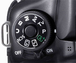 how to change aperture on canon 60d video