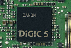 Canon EOS M review -- DIGIC 5 processor