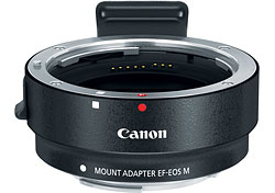 Canon EOS M review -- Mount Adapter EF-EOS M