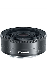 Canon EOS M review -- EF-M 22mm f/2 STM prime lens