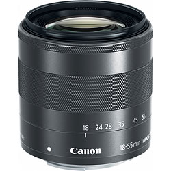 Canon EOS M review -- EF-M 18-55mm f/3.5-5.6 IS STM zoom lens