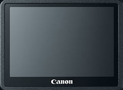 Canon EOS M review -- LCD monitor