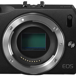 Canon EOS M review -- Lens mount